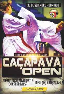 Caçapava Open de Karate